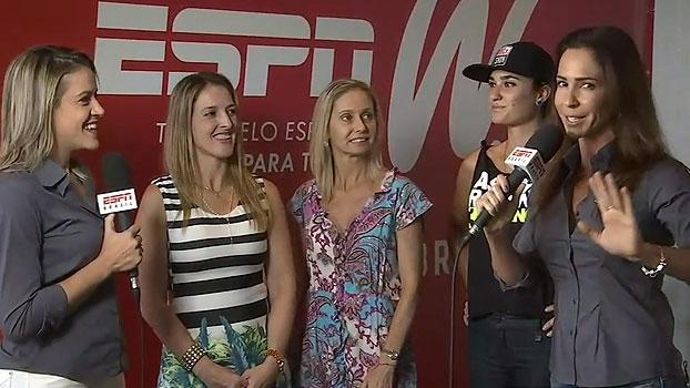 Gabriela Moreira e Juliana Veiga apresentam algumas das novas blogueiras do espnW
