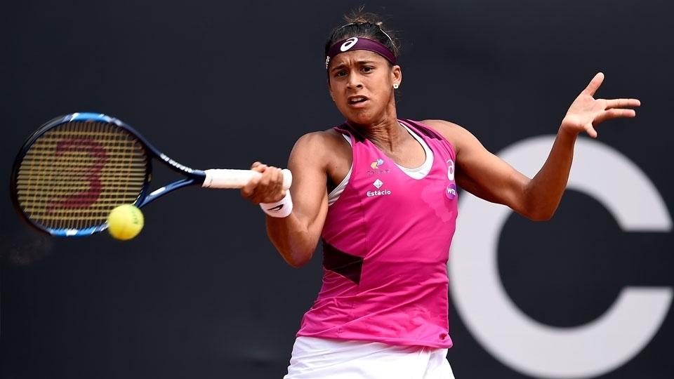 Teliana Pereira perde para japonesa e é eliminada em Indian Wells
