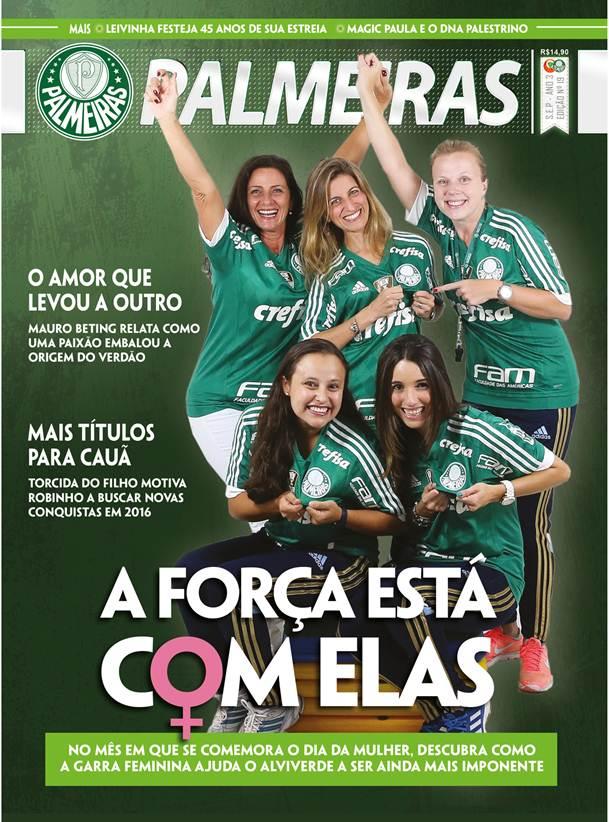No Palmeiras, as mulheres comandam as categorias de base