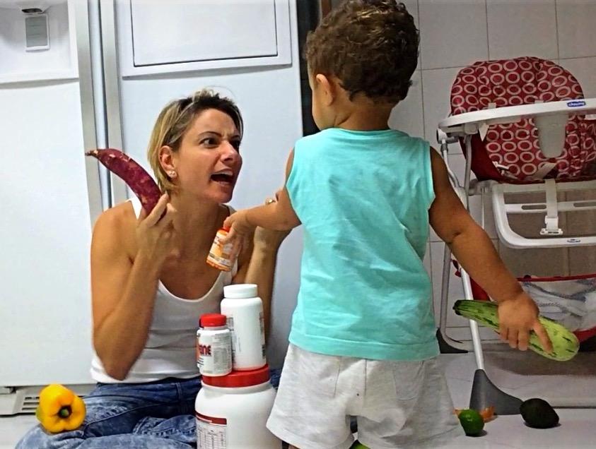 Alimentação: de criança a atleta e agora ex-atleta e mãe de criança