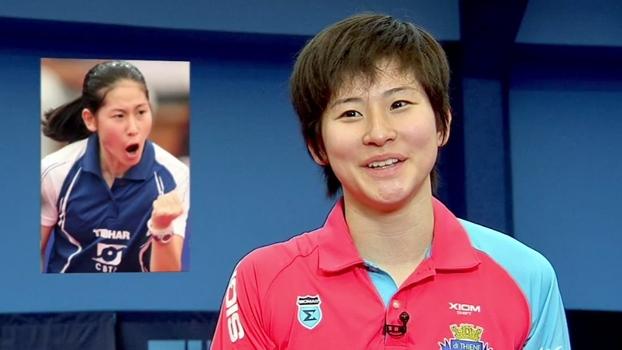 Formada no futsal, Caroline Kumahara mantém agressividade para brilhar no tênis de mesa