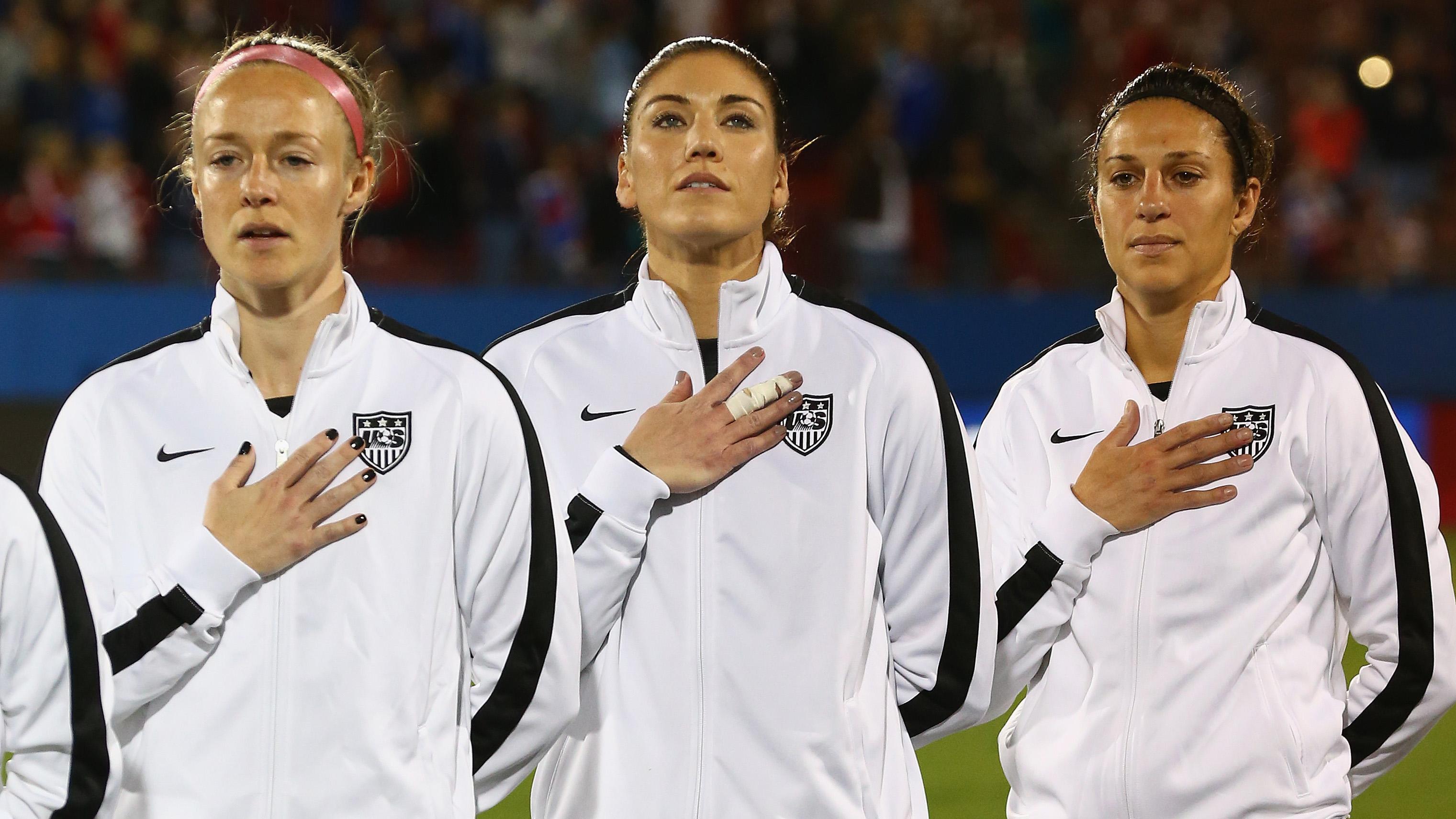 Estrelas da seleção feminina processam federação dos EUA por discriminação salarial