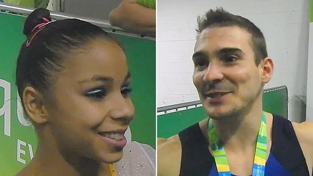 Flávia Saraiva se espelha em americanas para aperfeiçoar treinamento; Zanetti não pensa em bicampeonato olímpico