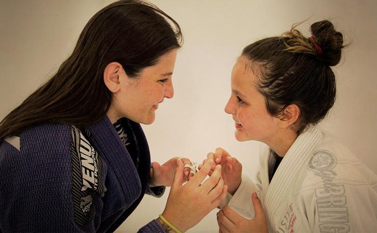 Jiu Jitsu de mãe para filha