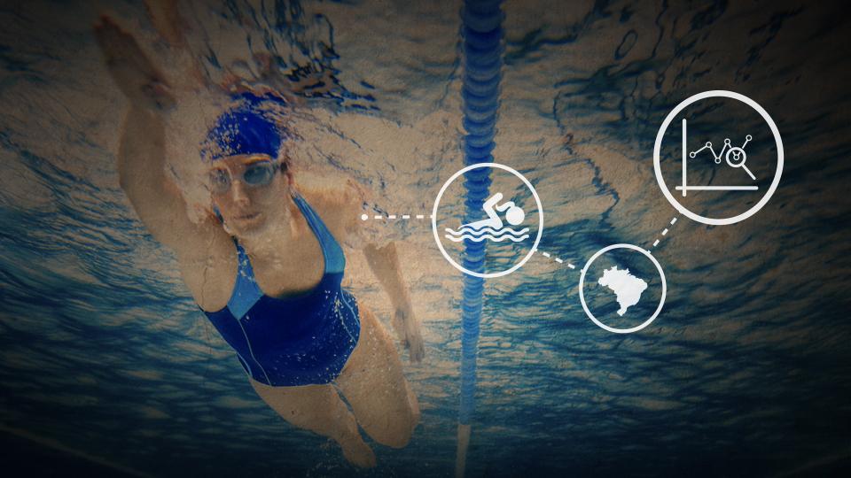 """Raio-X da natação feminina brasileira: dependência de """"geração espontânea"""""""