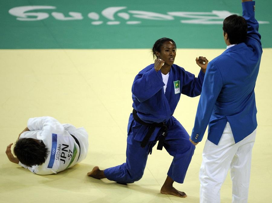 Em Pequim-2008, Ketleyn Quadros abriu caminho do pódio olímpico para os esportes individuais femininos do Brasil