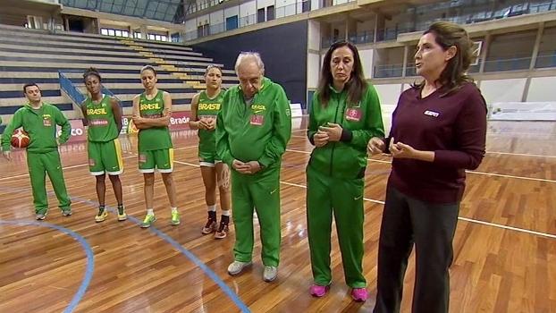 Magic Paula entrevista Barbosa, técnico da seleção feminina de basquete