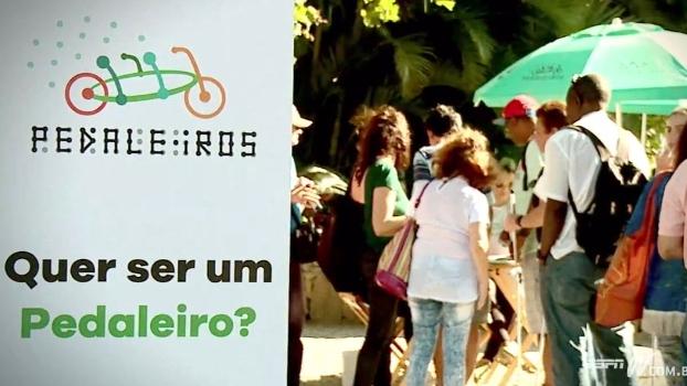 Projeto Pedaleiros proporciona passeios de bike a deficientes visuais