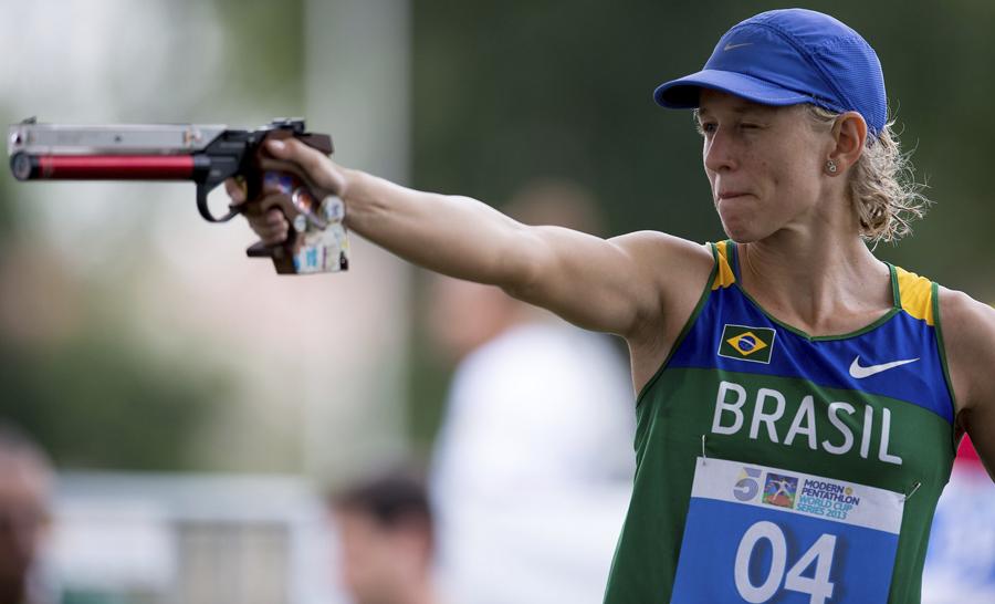 Yane Marques pode se tornar a segunda mulher da história a carregar a bandeira do Brasil na abertura dos Jogos Olímpicos