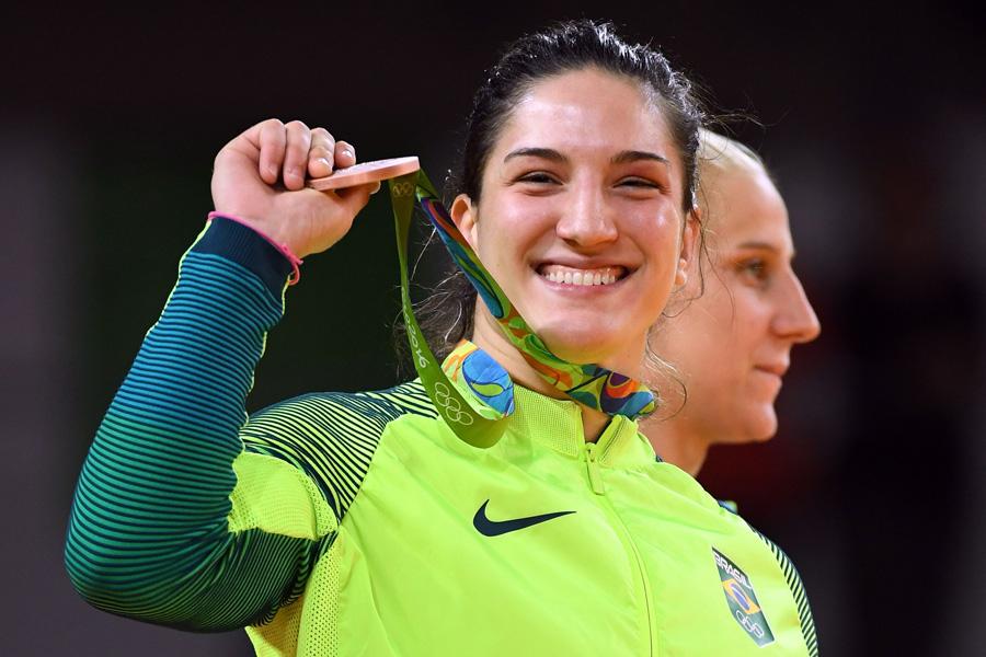 Com bronze no Rio, Mayra Aguiar se torna primeira brasileira com duas medalhas olímpicas em esportes individuais