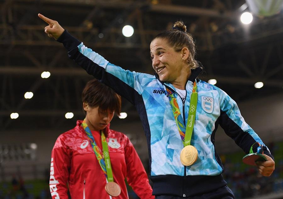 Primeira campeã olímpica da Argentina, Paula Pareto levará a bandeira do país na cerimônia de encerramento dos Jogos