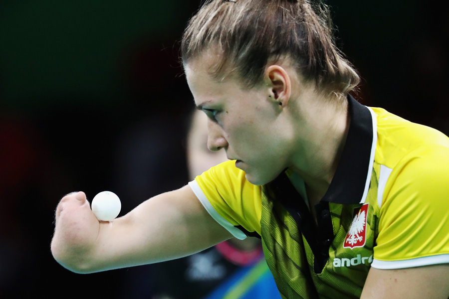 Depois da terceira participação olímpica, Natalia Partyka busca o tetra no Tênis de Mesa paralímpico