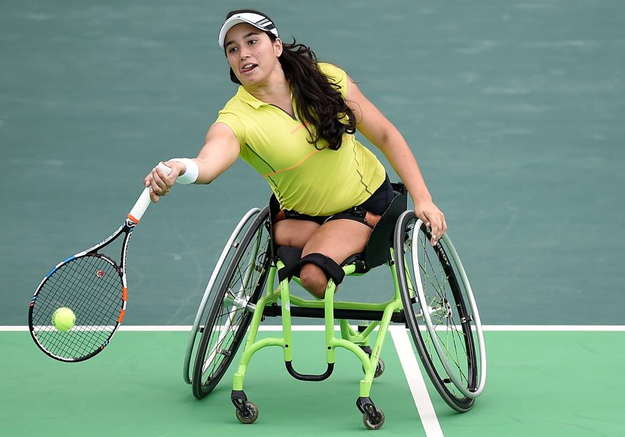 Melhor brasileira no ranking mundial de Tênis para cadeirantes, Natália Mayara é esperança de medalha nos Jogos Paralímpicos Rio 2016