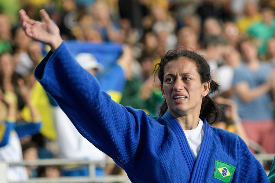 Judoca Lúcia Teixeira é a primeira mulher brasileira medalhista nos Jogos Paralímpicos Rio 2016