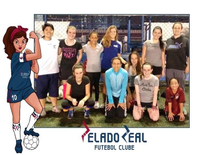 Nova escolinha de futebol feminino na área