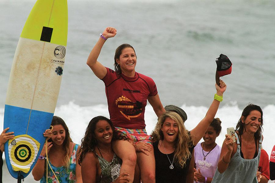 Brasileiro de Surf feminino acontece neste fim de semana