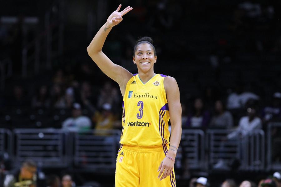 MVP das finais da WNBA, Candace Parker vive o basquete em família