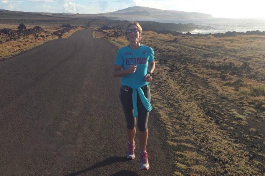 Ela correu as principais maratonas do planeta e já mira a próxima