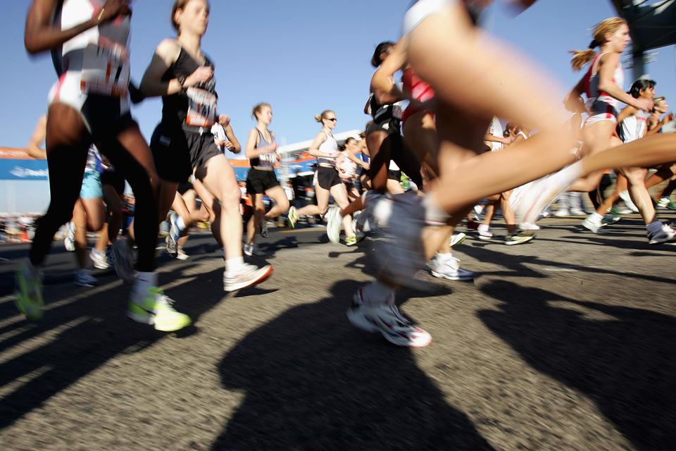 Meia elástica para correr?