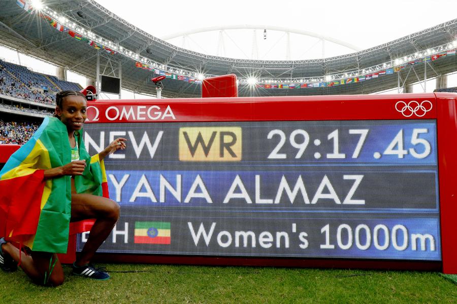 Etíope eleita atleta do ano foi ouro no Rio em prova que disputava pela segunda vez e criou polêmica ao citar Jesus