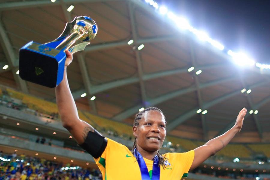 Confira os gols da vitória do Brasil que marcou a despedida de Formiga da seleção