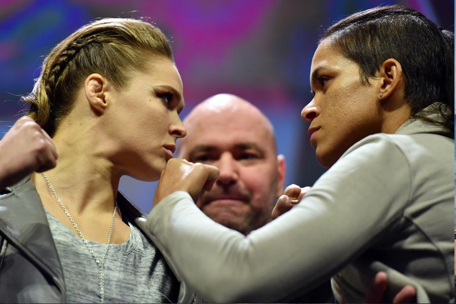 Imperdível: confira cinco razões para assistir ao duelo entre Ronda Rousey e Amanda Nunes