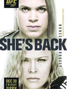 Amanda duela com Ronda no UFC 207 desta sexta