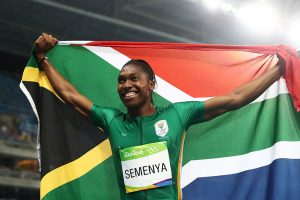 Caster Semenya nos Jogos Olímpicos Rio 2016