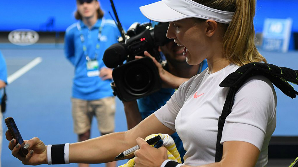 Confira como foi a primeira semana do Australian Open em fotos