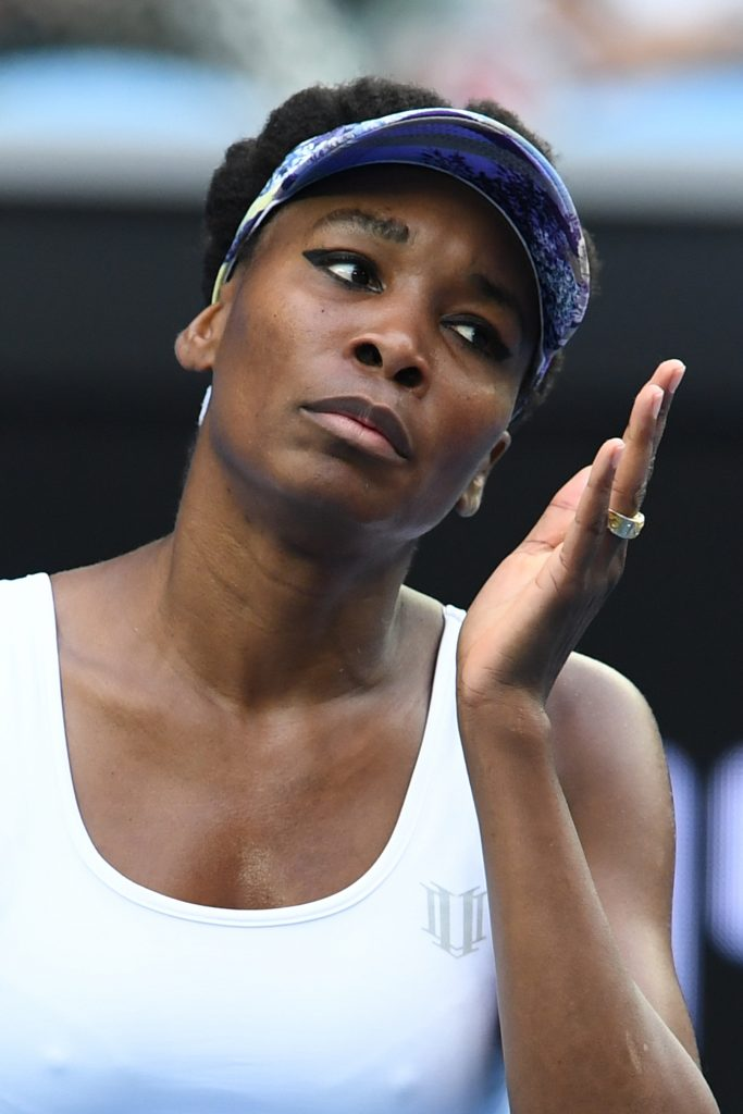 ... Venus Williams, que anda jogando tão bem quanto... (Getty Images)