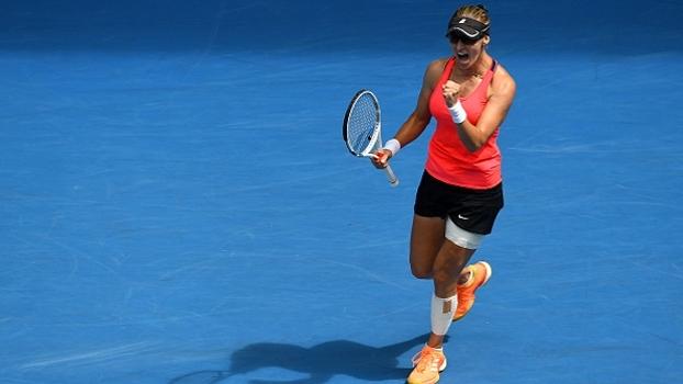 Lucic-Baroni continua campanha surpreendente e busca nova semifinal de Grand Slam após 18 anos