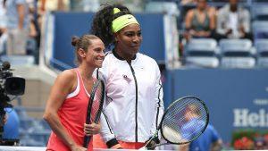 Serena mesmo sofreu uma das suas derrotas mais duras da carreira no US Open, em 2015, na semifinal, contra Roberta Vinci, uma italiana de 1,64m.