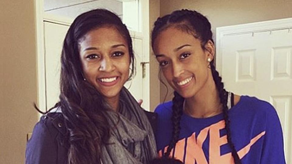Irmãs se inspiram uma na outra para brilhar no basquete e diminuem a distância entre EUA e Suíça