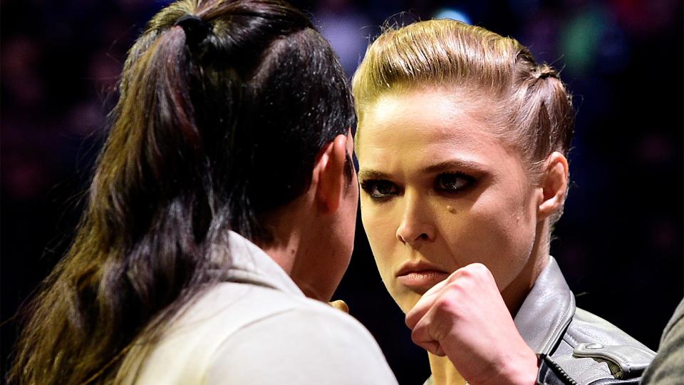 Após seguidas provocações, Amanda Nunes pede desculpas a Ronda Rousey na semana do aniversário da ex-campeã
