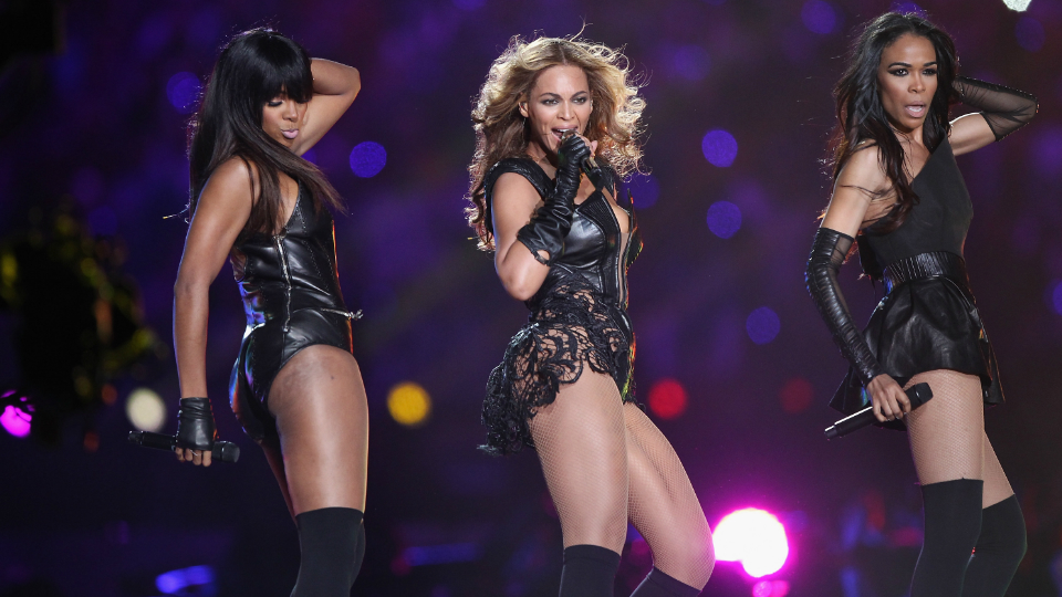 beyonce destiny super bowl