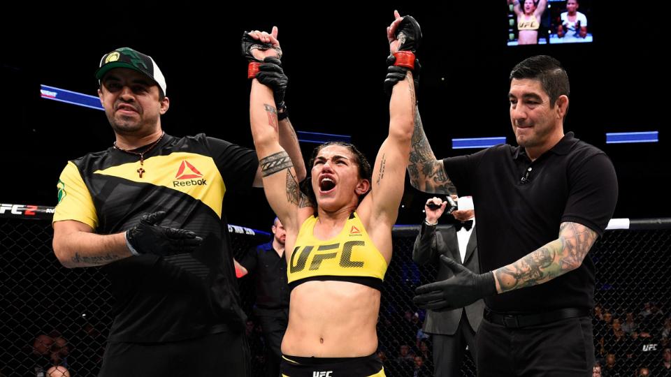 Ela esteve na primeira luta entre gays assumidas; Agora, Jéssica Andrade quer o cinturão do UFC