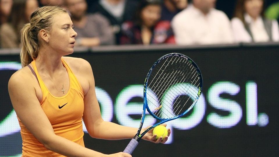 Sharapova consegue aval para jogar wildcard do Masters 1000 de Madri