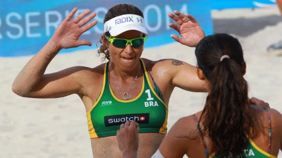 Larissa e Talita vencem final brasileira e conquistam etapa de Fort Lauderdale
