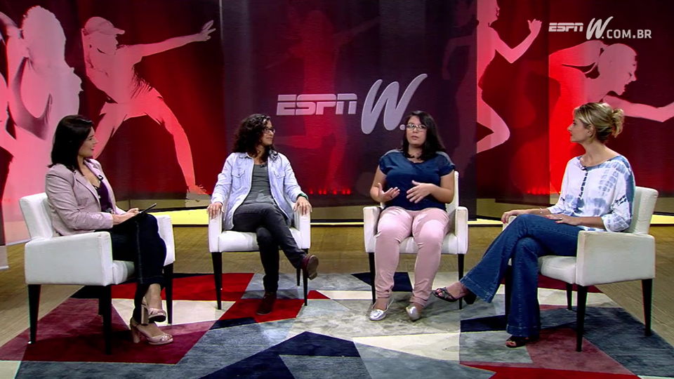 Brasileiras estão cada vez mais interessadas por esportes americanos e o Olhar espnW debate o assunto