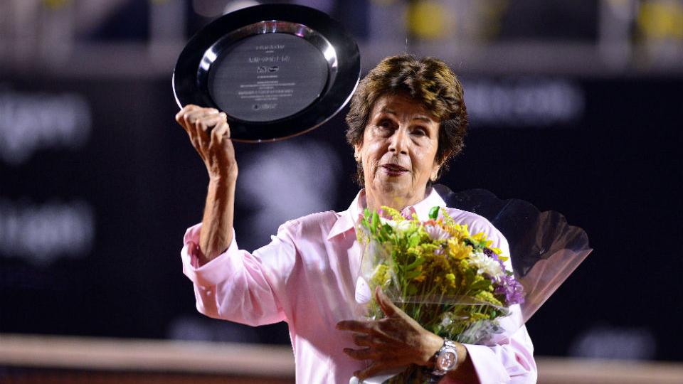Melhores tenistas brasileiras da história recebem homenagem na abertura do Rio Open 2017