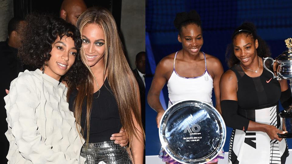 Coisa de irmã: as Knowles e as Williams são exemplos de competição saudável