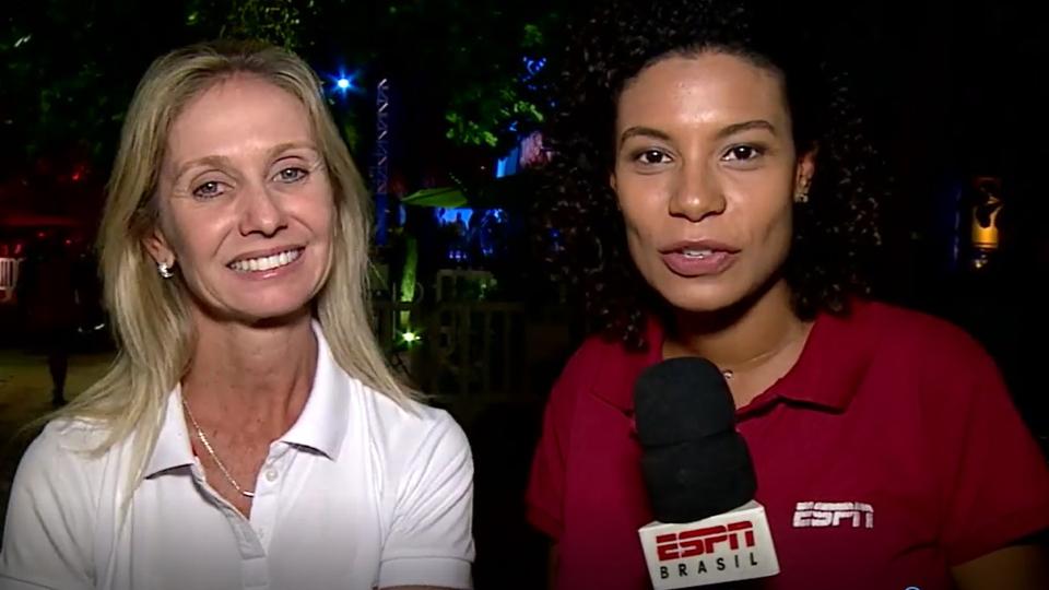 Confira como foi a homenagem às tenistas brasileiras na Abertura do Rio Open