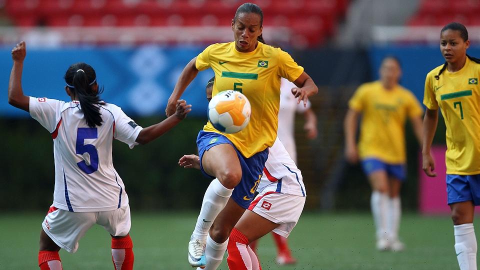 Futebol Feminino comemora o anúncio da primeira competição de base do país
