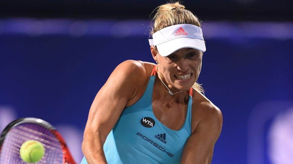 Kerber despacha croata e vai à semi em Dubai; Wozniacki também avança