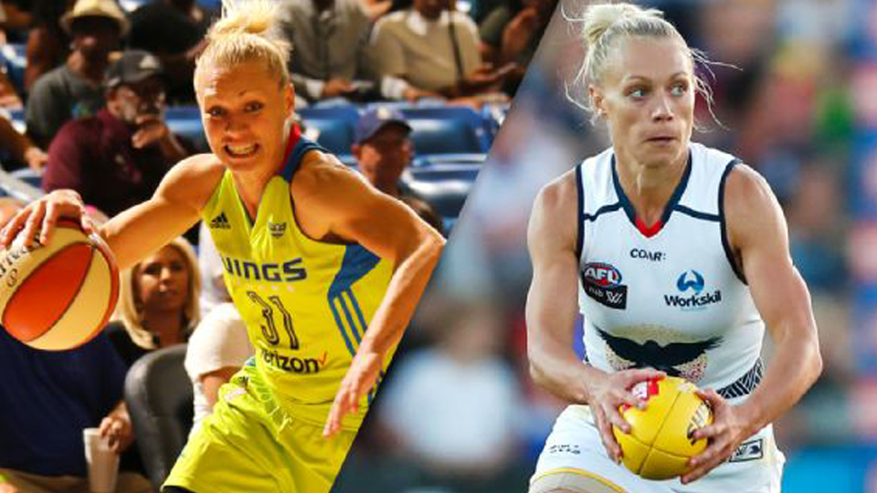Duas vezes campeã da WNBA, Erin Phillips quer brilhar também no futebol australiano