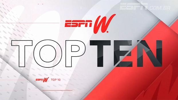 Esqui, ginástica artística e basquete são destaques no Top 10 do espnW