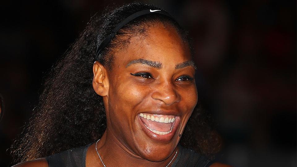 O que você faria se Serena Williams interrompesse o passeio e te desafiasse para uma partida de tênis?