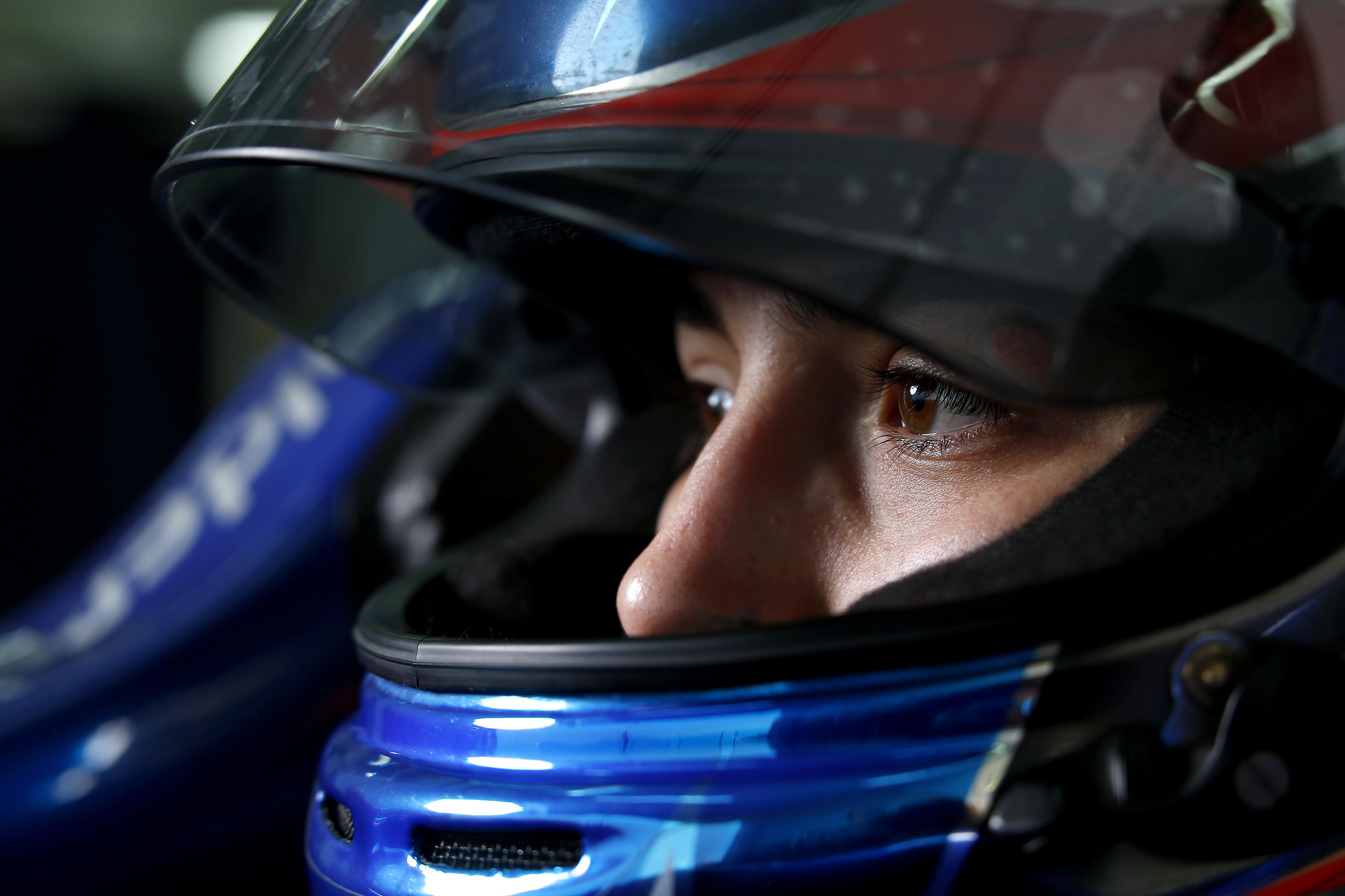 Aos 10 anos, Tatiana Calderón disse aos pais que queria correr na Formula 1; Aos 23, é piloto de testes da Sauber (Getty Images)