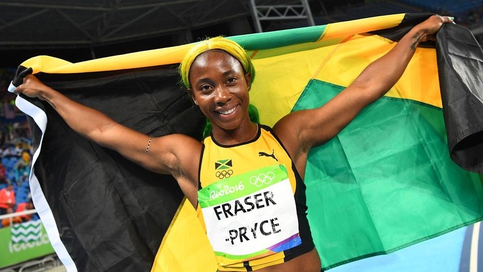 Bicampeã olímpica, Shelly-Ann Fraser-Pryce anuncia que está grávida