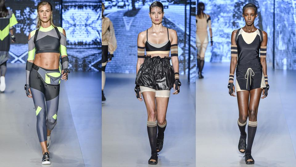 Moda e esporte se encontram na São Paulo Fashion Week